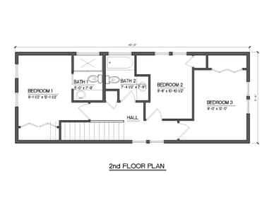Slate Homes -  Aspen Second Floor